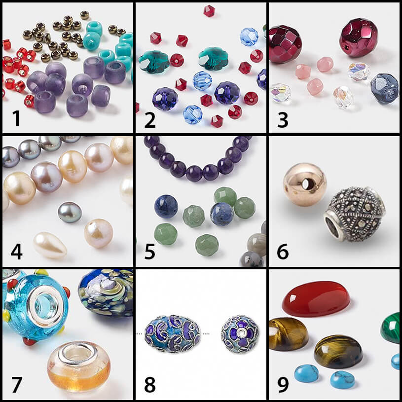 bead types